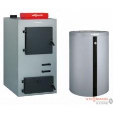 Пакет Vitoligno 100-S 40 кВт + Бойлер Vitocell 100-E 950 л + Vitotronic 100 FC1