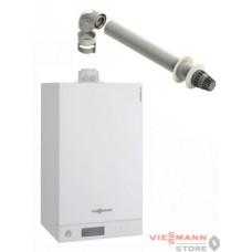 Vitodens 100-W B1KC 35 кВт + Дымоход 60/100