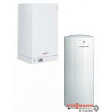 Vitopend 100-W 34,0 кВт + Бойлер Vitocell 100-W CVA 200 л