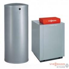 Пакет Vitogas 100 - F 29 квт с авт. KO2B + бойлер Vitocell 100 300 л